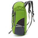 Легкий туристичний рюкзак для трекінгу. Складаний рюкзак 35 літра. Зелений., фото 3