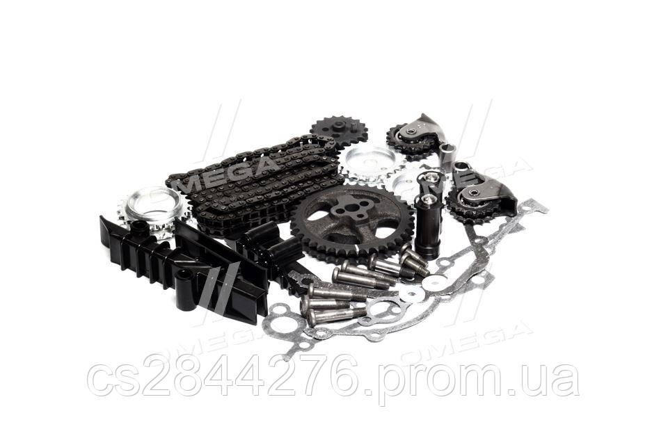 Ремкомплект ГРМ 72/92 двигатель 405,406,409 полный (рычаги,звезд.,цепи,успок.) (пр-во ЗМЗ) 406.3906625-10