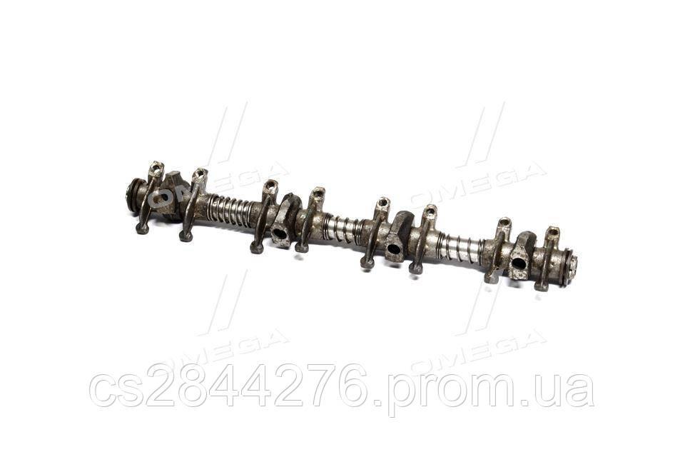 Ось коромысел клапанов ГАЗ 53 с коромыслами в сборе 13-1007098-21