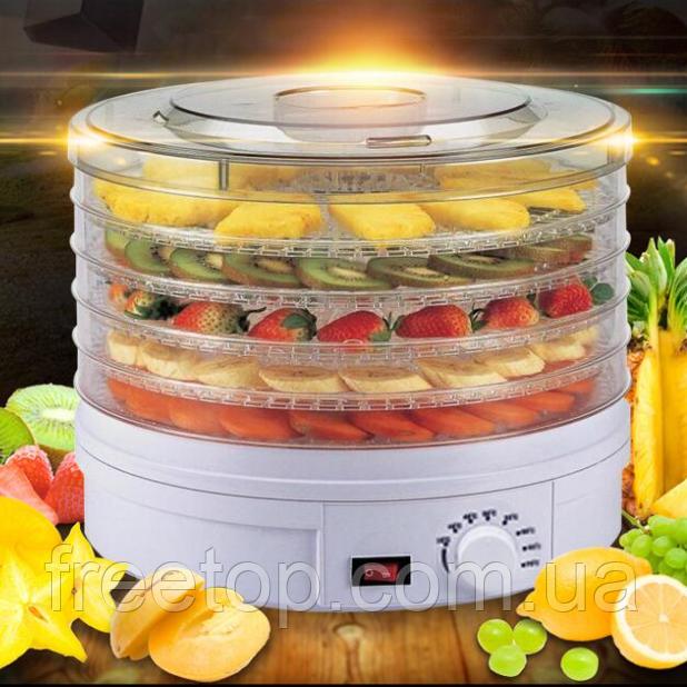 Сушарка для овочів і фруктів Rainberg електрична 800W RB-912 (Реинберг)