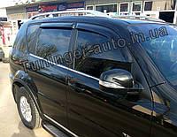 Дефлекторы окон (Ветровики) SsangYong Rexton I/II 2001-2012 г.в. (AutoClover/Корея), фото 1