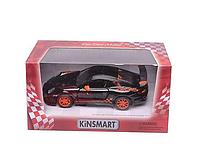 Машинка модель Kinsmart, Porsche 911 GT3 RS, 2010 год KT5352W