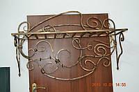 Кованая вешалка на стену, фото 1