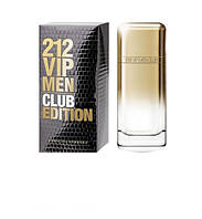Мужская туалетная вода Carolina Herrera 212 vip Club Edition Men (Каролина Хирерра 212 вип Клаб Эдишен Мэн)