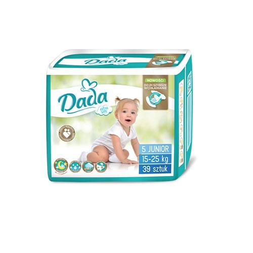 Памперсы Дада Dada extra soft 5 (15 - 25 кг) 39 шт.