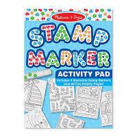 Набор для творчества Melissa&Doug Штампики-маркеры для мальчиков, 4 шт. (MD2422)