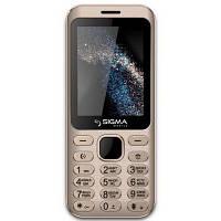 Мобильный телефон Sigma X-style 33 Steel Dual Sim Gold (4827798854921)