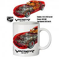 Чашка с принтом 65505 Viper