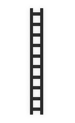 Электрический полотенцесушитель Genesis-Aqua Scala 120x25 см, фото 2