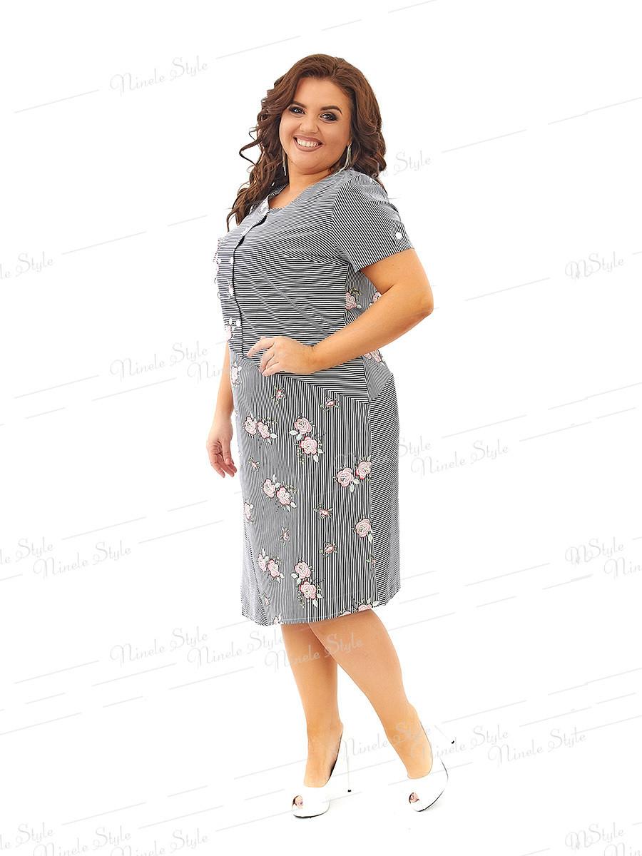 Коттоновое платье  296 54