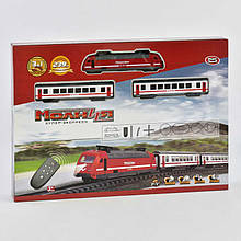 Железная дорога р/у, 239 см, со световыми и звуковыми эффектами на батарейке SKL11-182699