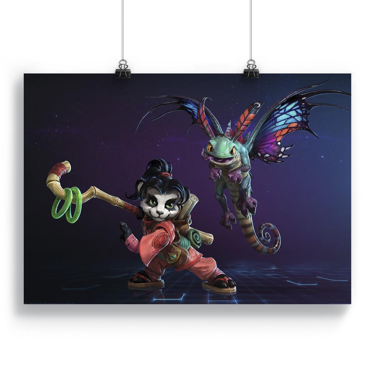 Плакат Герої шторму   Heroes of the Storm 04