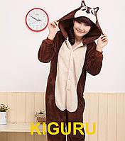 Пижама кигуруми костюм бурундук