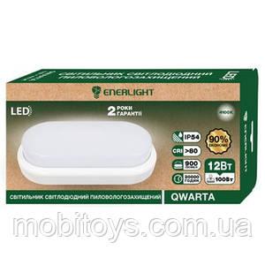Светильник пилевологозахищений светодиодный ENERLIGHT QWARTA 12Вт 4100К Ш.К. 4823093500679