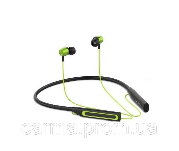 Беспроводные Bluetooth наушники YISON E15 Зеленые