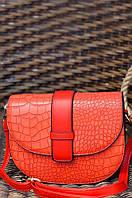 Сумка-клатч женский красный размер 16 х 20 х 7 AAA 1144/1, фото 1