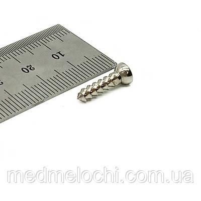 Гвинт малий спонгіозний D=3,5мм, 16мм