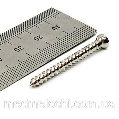 Гвинт малий спонгіозний D=3,5мм, 38мм