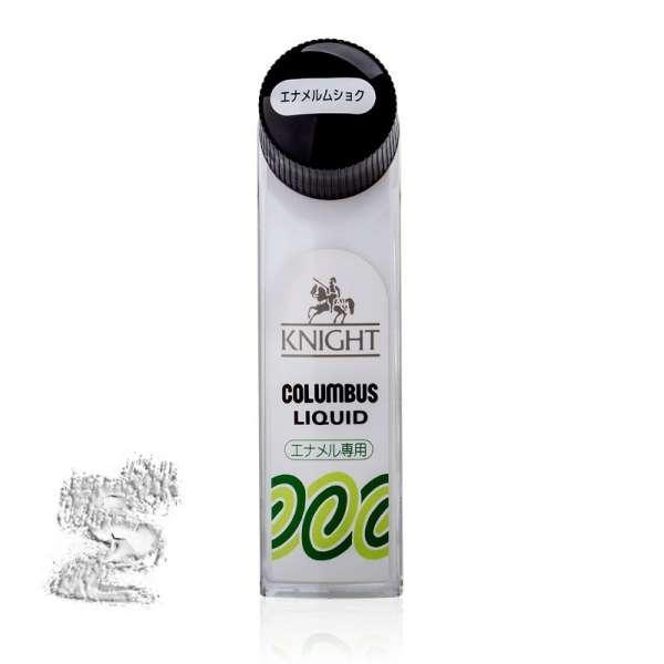 ✅ Бесцветный жидкий крем для обуви класса люкс Columbus Knight Liquid, 65 мл