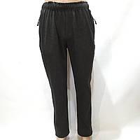 Спортивные штаны мужские прямые (Больших размеров) серые р. 58, 60, 62, 64 отличного качества, фото 1