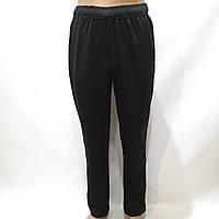 Спортивные штаны мужские прямые (Больших размеров) черные р. 58, 60, 62, 64 отличного качества, фото 1
