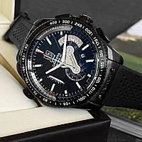 Часы Tag Heuer Grand Carrera Calibre 36 Chronograph Black / Таг Хоер