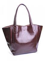 Женская сумка кожанная 8077 Coffee