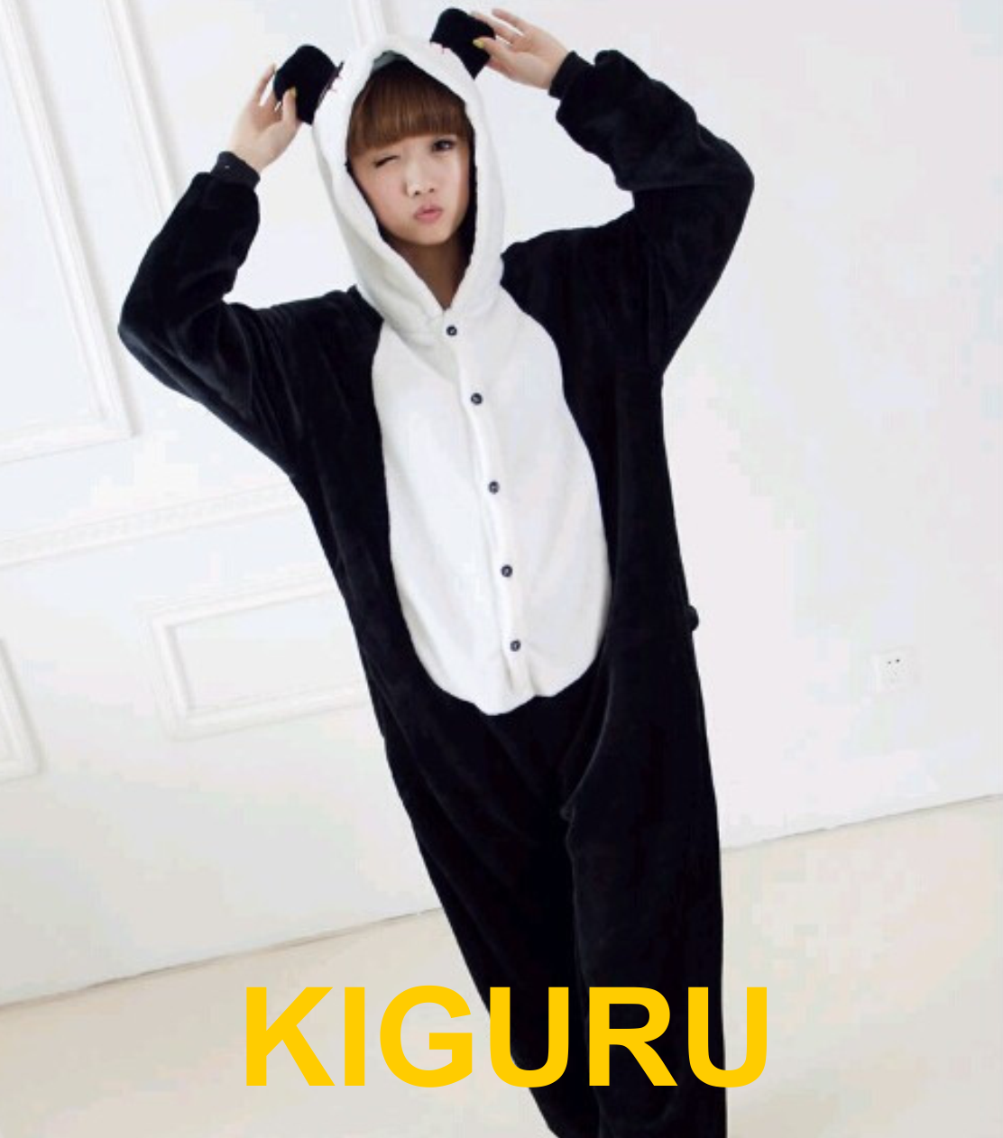 Пижама с ушками кигуруми панда