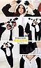Пижама с ушками кигуруми панда, фото 2