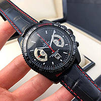 Часы Tag Heuer Grand Carrera Calibre 17 Chronograph Black / Таг Хоер