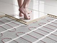 Теплый пол электрический под плитку (нагревательный мат)