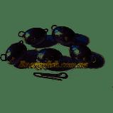 Груз Чебурашка разборной овальный 28g