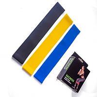 Набор резинок для фитнеса Raciness Original набор из 3 шт. Фитнес резинки 8,14 и 22кг