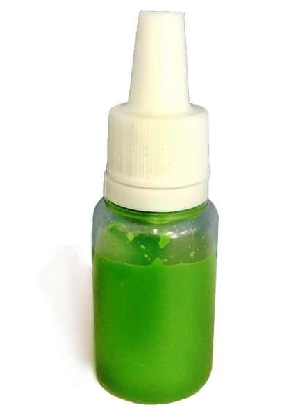 ✅ Зеленая краска для обуви и изделий из кожи MAVI STEP Universal Dye, 10 мл
