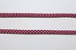 Шнур круглый 6мм с наполнителем 100м розовый + черный, фото 2