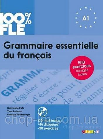 Grammaire essentielle du français 100% FLE A1 Livre avec CD mp3 (Didier) / Книга грамматики, фото 2