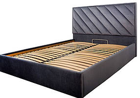 Кровать Чикаго Стандарт ткань Amore 32, 160х200 (Richman ТМ)
