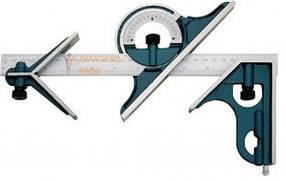 Угломер УМ6 0-180, L-300 мм комбинированый