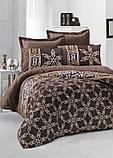 Комплект постельного белья двуспальный Victoria Sateen Alisa 200x220 см (41055_2,0), фото 2