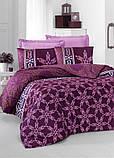 Комплект постельного белья двуспальный Victoria Sateen Alisa 200x220 см (41055_2,0), фото 3