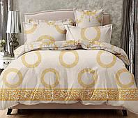 Семейный комплект постельного белья сатин (14377) TM КРИСПОЛ Украина