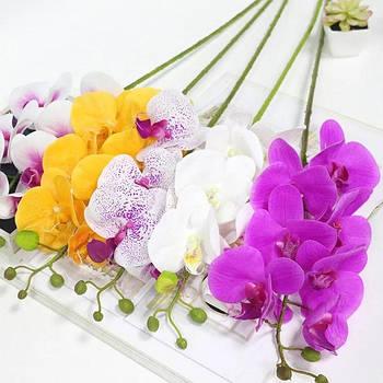 Орхидея искусственная ветки тканевые