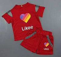 Красивый и модный комплект для девочки Likee 140/158 см