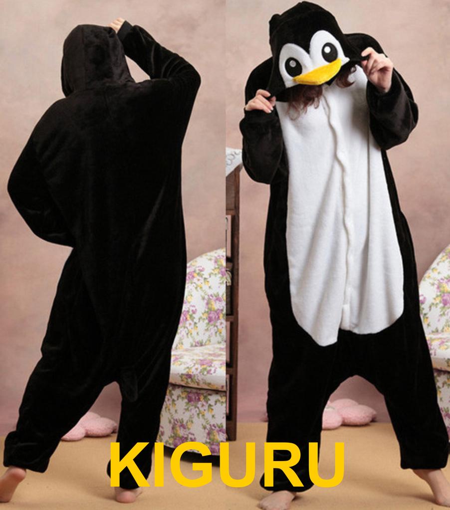 Костюм кигуруми пижама пингвин