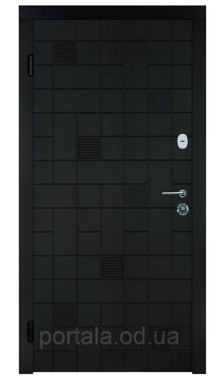 """Входная дверь для улицы """"Портала"""" (Комфорт Vinorit) ― модель Каскад"""
