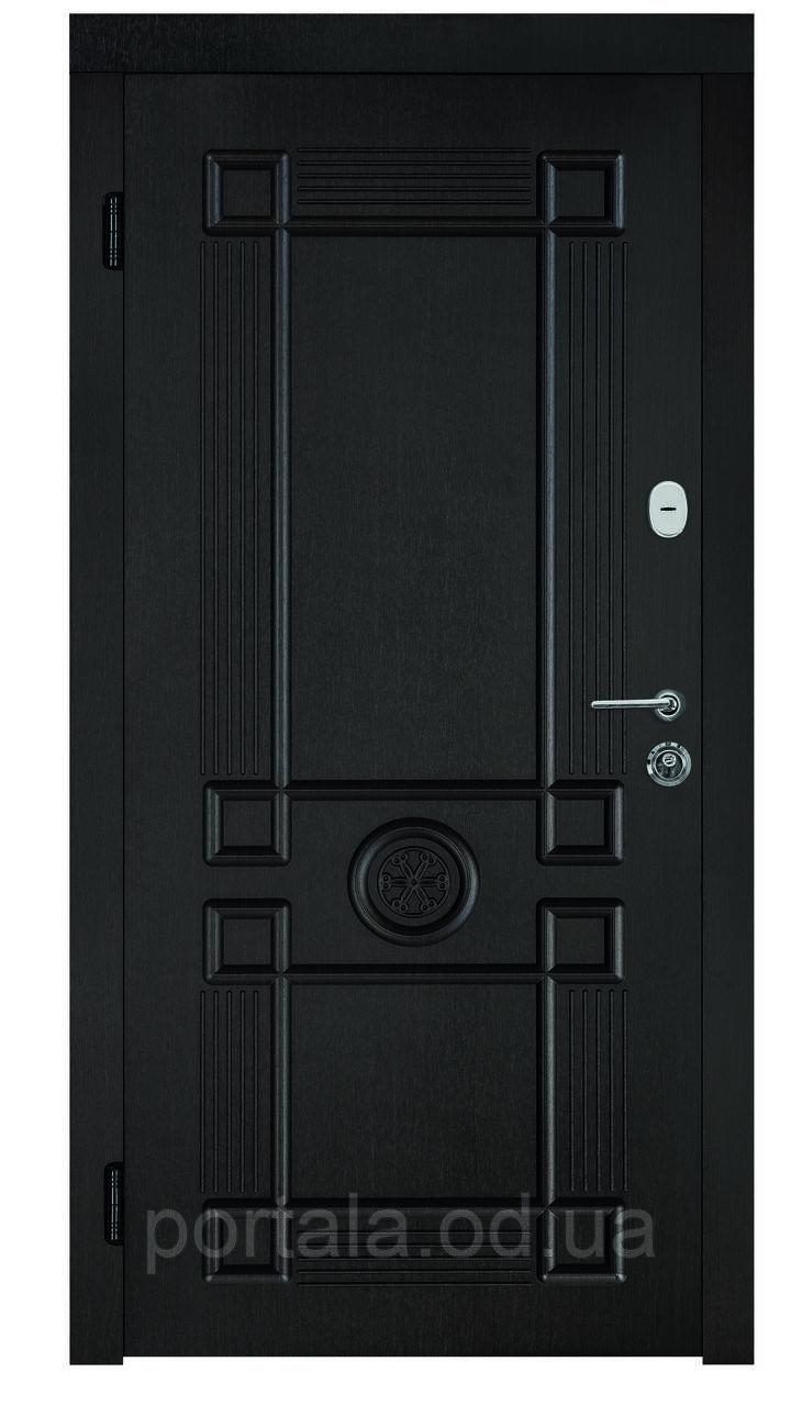 """Сталеві броньовані двері в Одесі з гарантією """"Портала"""" (серія Стандарт) ― модель Монарх 2"""