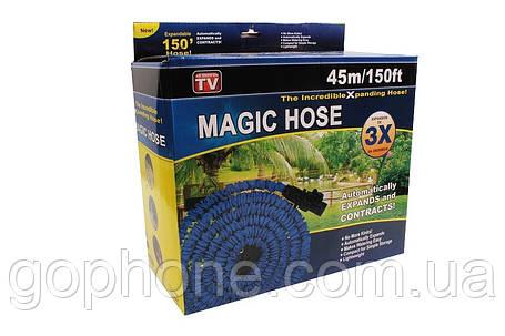 Шланг для полива Magic Hose 60 м Распылитель в подарок, фото 2