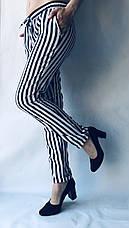 БАТАЛЬНЫЕ летние штаны N°17 КП синяя, фото 3