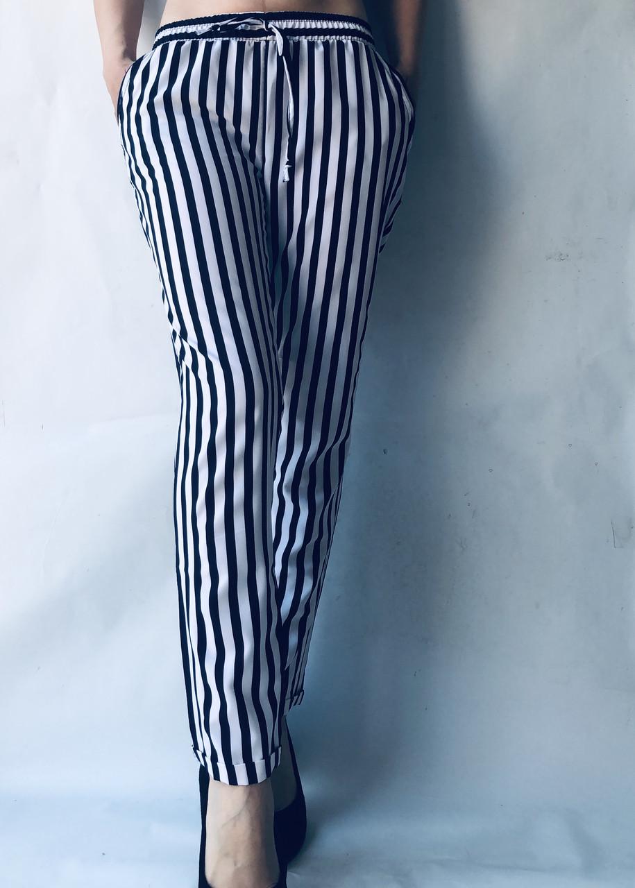 БАТАЛЬНЫЕ летние штаны N°17 КП синяя