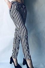 БАТАЛЬНЫЕ летние штаны N°17 КП синяя, фото 2